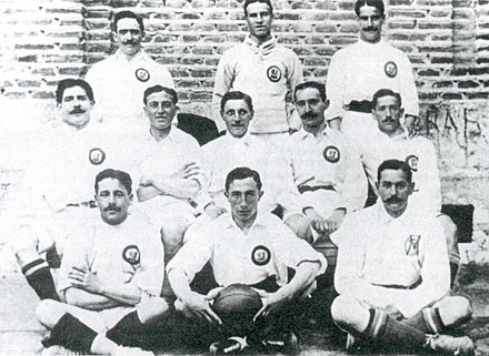 Real Madrid team in 1905 - Real Madrid C.F.