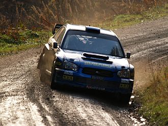 Mads Østberg - Østberg at the 2007 Wales Rally GB.