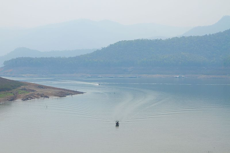 The lake of Mae Ngat Sombun Chon Dam, Si Lanna National Park, Chiang Mai Province, by Nejumy #12'