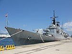 Maestrale class frigate Euro (F 575) - Harbour of Reggio Calabria - Italy - 8 July 2018 - (13).jpg