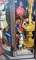 Maestro della leggenda di s. barbara, forse aert van den bossche, s.agostino sacrifica all'idolo dei manichei, 1480 ca. 05.JPG