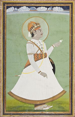 Pratap Singh of Jaipur - Image: Maharaja Pratap Singh (Reigned 1778 1803) LACMA M.81.272.4 (1 of 2)