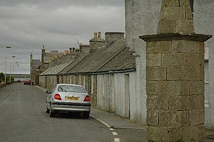 Balfour, Orkney - The main street of the village.