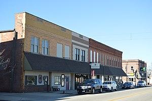 Rockford, Ohio - Main Street downtown