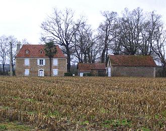 Auriac, Pyrénées-Atlantiques - Bearnais house in Auriac