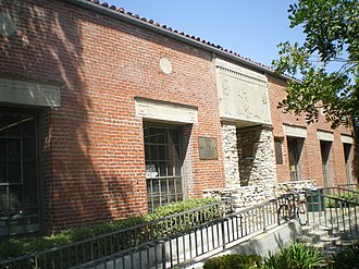 Malabar Branch - Front façade of Malabar Branch