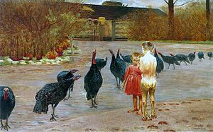 Malczewski Art in the manor.JPG