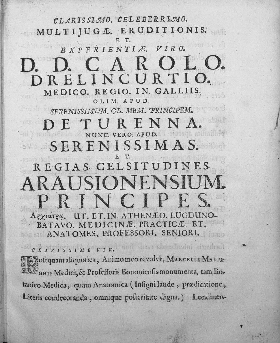 Malpighi - Opere, 1687 - 3053086