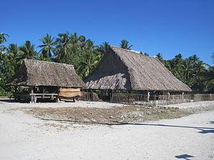 Maneaba in Marakei, Kiribati