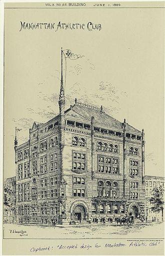Manhattan Athletic Club - Image: Manhattan Athletic Club
