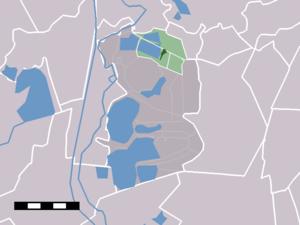 Ankeveen - Image: Map NL Wijdemeren Ankeveen