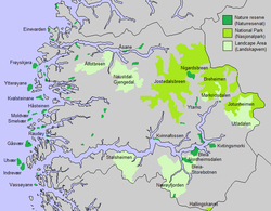 kart førde kommune Verneområder i Sogn og Fjordane – Wikipedia