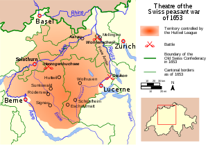 Map Swiss Peasant War of 1653.svg