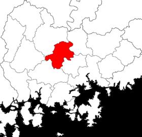 宜宁郡的位置