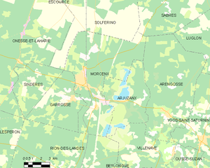 Map commune FR insee code 40197.png