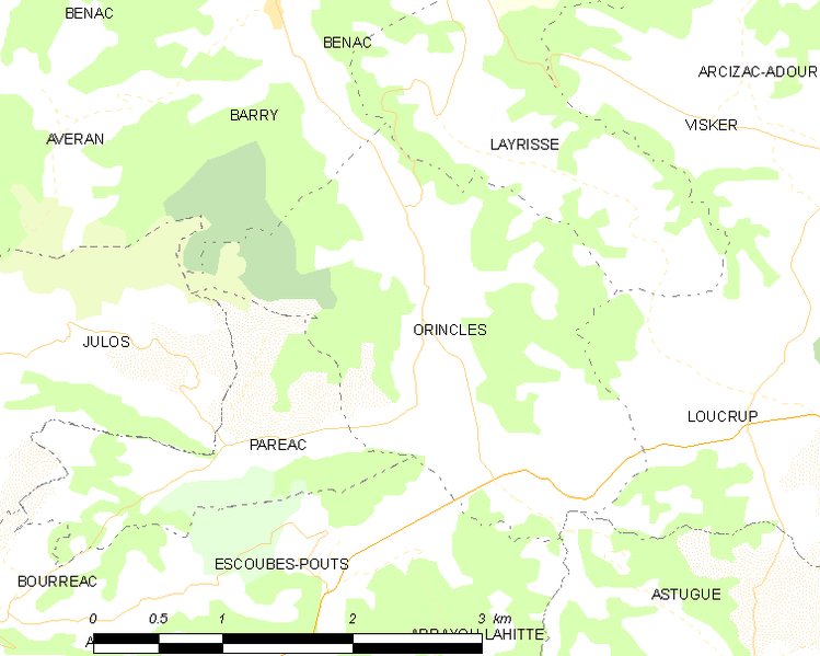 Archivo:Map commune FR insee code 65339.png
