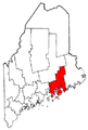 Map of Maine highlighting Hancock County.png