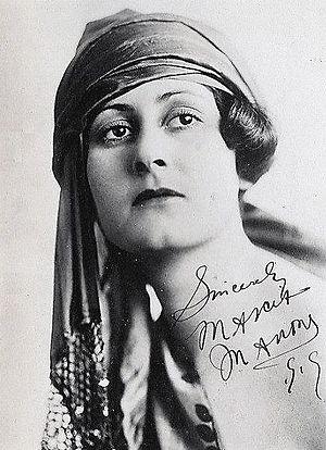 Marcia Manon - Image: Marcia Manon 1919