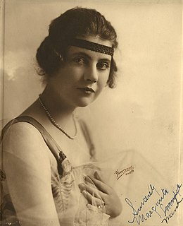 Marguerite Marsh American actress