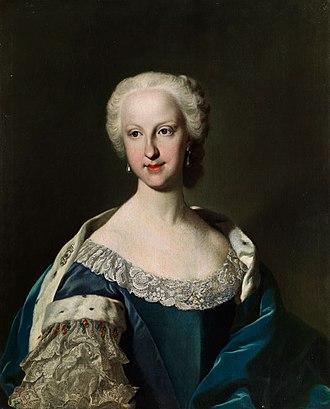 Maria Teresa Rafaela of Spain - Portrait by Jacopo Amigoni