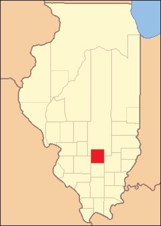 Marion County, Illinois - Image: Marion County Illinois 1823