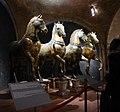 Markusdom Venedig Original Pferde im Inneren des Domes.jpg