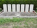 Marson-sur-Barboure (Meuse) tombes de guerre de la CWGC.JPG