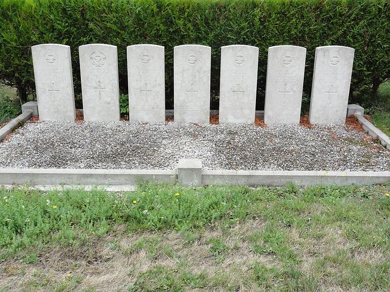 Marson-sur-Barboure (Meuse) tombes de guerre de la CWGC