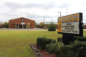 Wayne County School District (Georgia) - Image: Martha Puckett Middle School