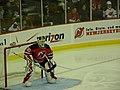 Martin Brodeur during game at Prudential Center vs Ottawa 11-25-09 2.jpeg