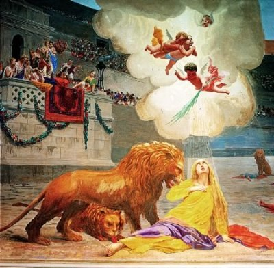 Martyrdom of St. Euphemia
