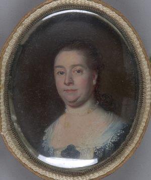 Andrew Oliver - Mrs. Andrew Oliver (Mary Sanford) (1713 - 1773)