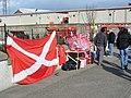 Match Day on Merkland Road East - geograph.org.uk - 740329.jpg