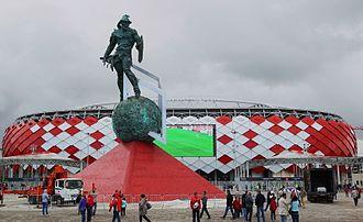 Otkritie Arena - Square near Otkrytiye Arena