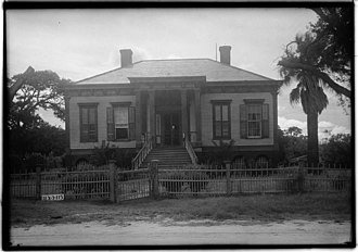 National Register of Historic Places listings in Aransas County, Texas - Image: Mathis House Rockport Texas