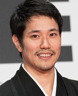 L (Death Note) - Image: Matsuyama Kenichi at the Tokyo International Film Festival 2016 (33603919716)