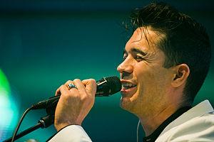 Matthew Dear - Dear performing at Roskilde Festival, 2011.