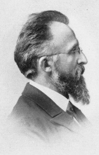 Max Fürbringer - Portrait in 1905
