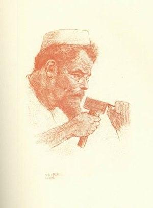 Max Klinger - Portrait of Max Klinger by Emil Orlik, 1902