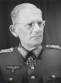 Maximilian von Weichs German Generalfeldmarschall during World War II