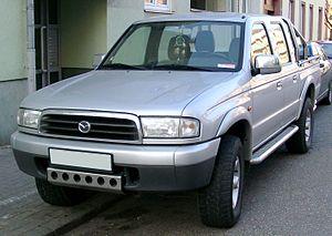 Mazda B-Series - Image: Mazda B2500 front 20080215