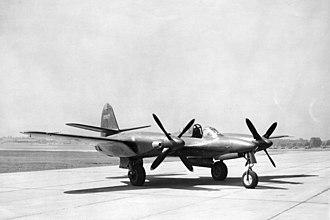 McDonnell XP-67 - Image: Mc Donnell XP 67 061024 F 1234P 031