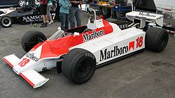 The unique McLaren M30.