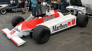 McLaren M30 - The unique McLaren M30.