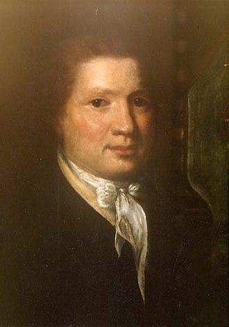 Joseph McMinn - Portrait of McMinn by Rembrandt Peale