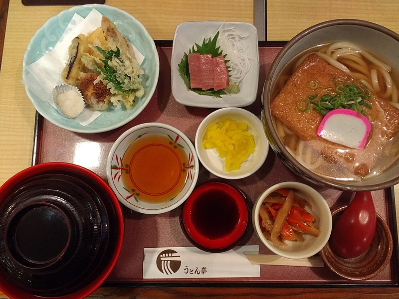File:Meal at Udon-tei in Nara.jpg