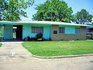 Medgar Evers - Image: Medgar Evers house
