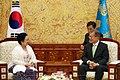 Megawati Sukarnoputri visit to Cheongwadae 2017 (4).jpg