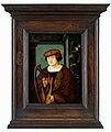 Meister aus dem Kreis um Hans Holbein d.J. - Bildnis des Luzerner Humanisten Johannes Zimmermann (Xylotectus), 1520 (retouched).jpg