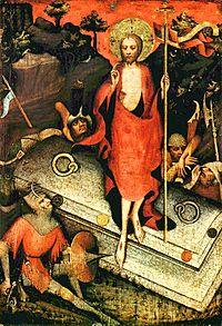 Воскресение Христово. Створка Тржебоньского алтаря